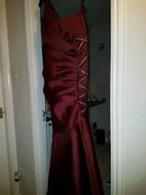 long one shoulder prom dress