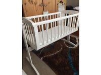 Small rocking crib