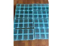 Weaning freezer trays x 8 (64 individual pots)