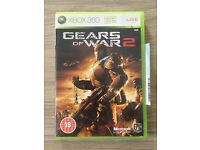 Xbox 360 Gears of War 2 game used in like new condition