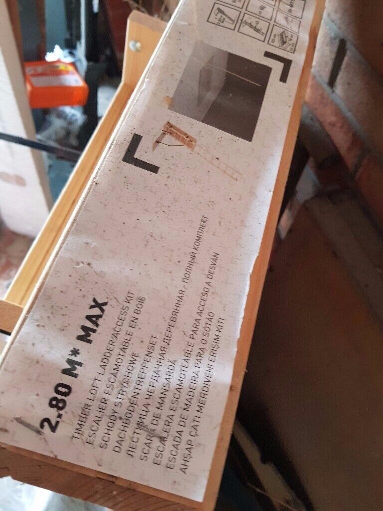 Pull Down Loft Ladder 28m Timber Loft Ladder In Middleton West Yorkshire Gumtree