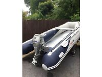 Boat - Honwave T40 - AE , inflatable,.
