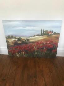 Poppy canvas / picture