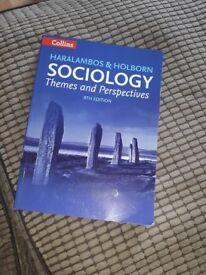 Haralambos & Holborn Sociology Themes and Perspectives 8th Edition