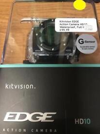 Kit vision EDGE Action camera HD10 0203 556 6824