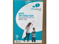 White Dry Erase Paint