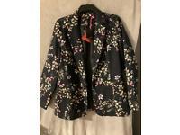 Co-ord trouser & blazer set - BNWT - size 14