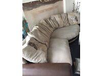 Excellent condition cord sofa