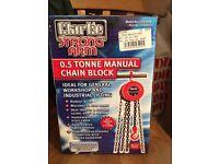 Chain block new in box
