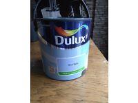 Dulux Silk Emulsion 2.5L Blue Babe *Unopened*
