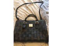 Fiorelli black leather bag/satchel - excellent condition