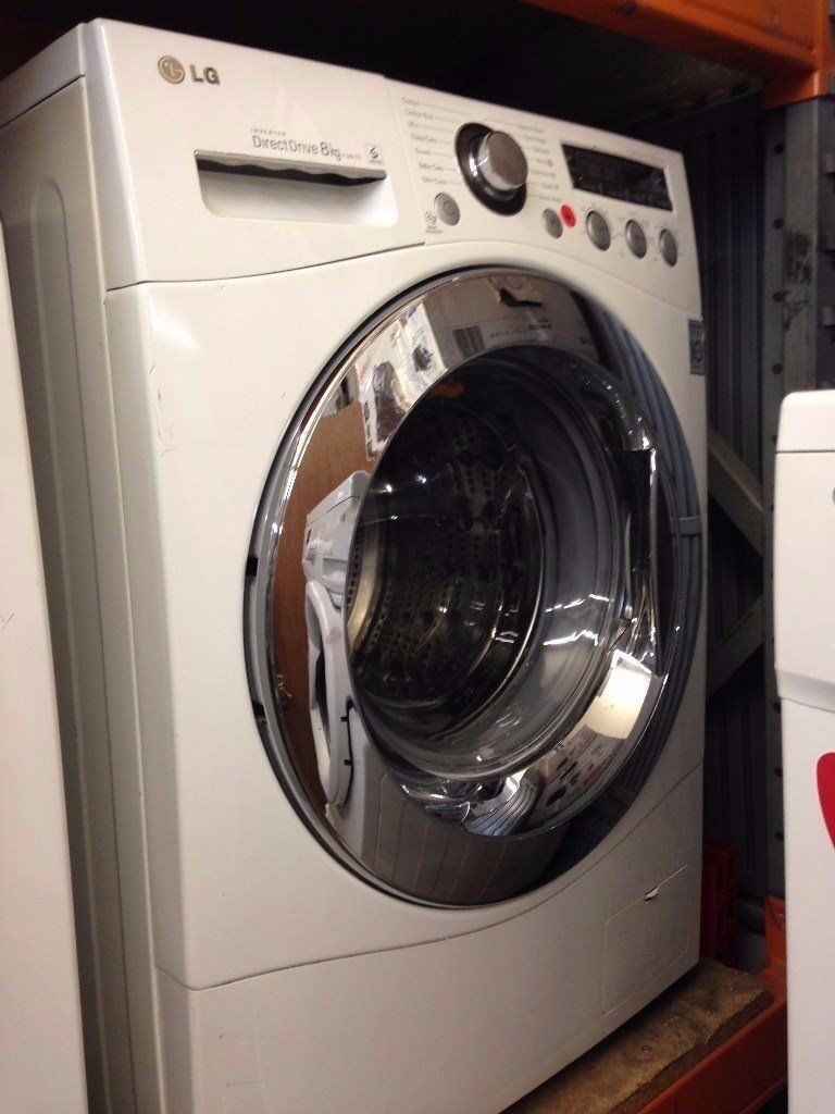 LG WASHING MACHINE 8KG WHITE RECONDITIONED