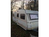 Caravan not bad condition