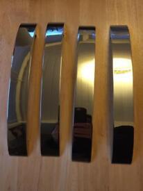 Polished Chrome Cupboard Door Handles