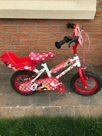Child's Mini Mouse Bike with Helmet