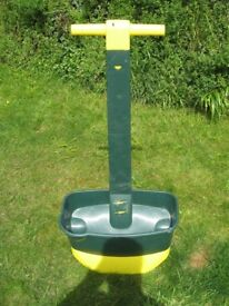 Easy Lawn Fertilizer Spreader 200m2 Capacity