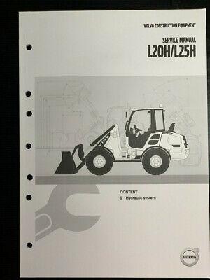 Volvo L20hl25h Wheel Loader Service Manual - Hydraulic System - Pub 20054498-b