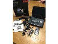 "Logic 9"" Portable DVD Player ""boxed and complete with instructions"