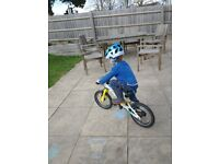 Lightweight pedal bike Frog 43 for 3-4yr olds