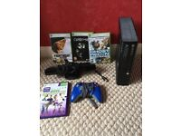 Xbox360 E slim 500gb bundle with Kinect