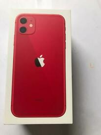 Apple IPhone 11 128gb Product Red Unlocked Owned this fone from new