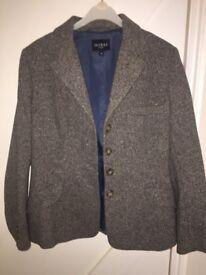 Hobbs Ladies Tweed Jacket Size 12