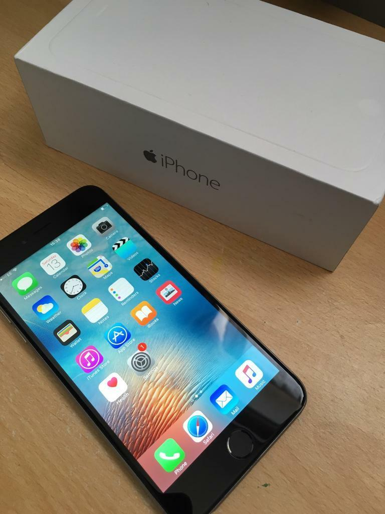 Apple iPhone 6 PLUS 16GB in Space Grey Boxed with Accessoriesin Bethnal Green, LondonGumtree - Apple iPhone 6 PLUS 16GB in Space GreyBoxed with AccessoriesIn great condition and works perfectly. Comes with mains charger and usb cable and original box. Can be used on O2 / Giff gaff networksCash on collection from Bethnal Green station please....