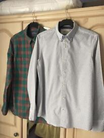 2 Mens Casual Shirts - (PRICE IS FOR BOTH)