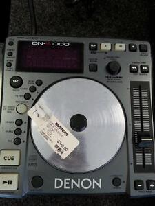 Denon CDJ Turntables (Pair). We sell used DJ equipment, turntables, mixers, numark, technics, and much more! (#43096)