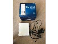 WD My Cloud 2TB Hard Drive - Personal Cloud Storage. Mint condition