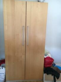 Immaculate Wardrobe H193cm, W99cm