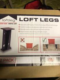 Loftleg raised floor loft loft legs