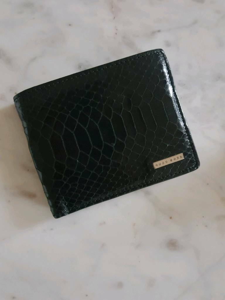 Hugo Boss men's wallet