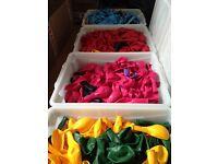 1000 Latex Belbal Balloons. Wholesale / joblot. Decor Birthday Wedding Party in range of Colours