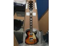 A new/unused Raypierre excellent quality Les Paul copy.