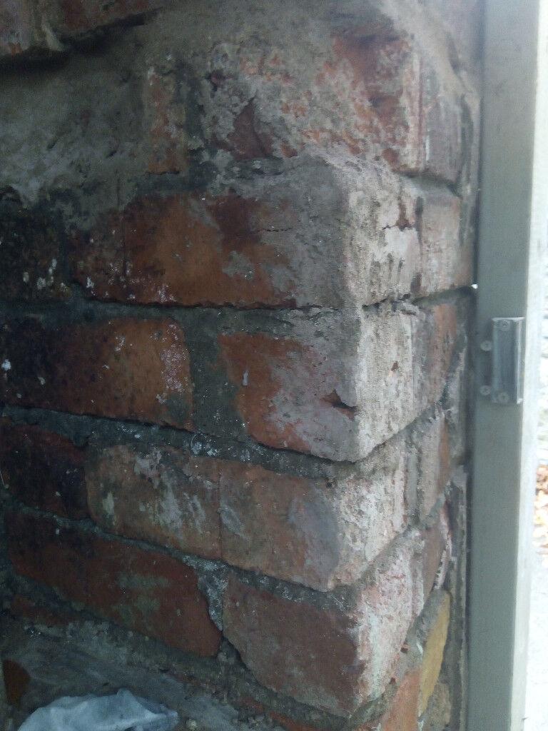 Old reclaimed bricks,