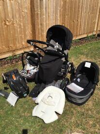 Britax Affinity 3 in 1 Pram, Stroller & Car Seat Set