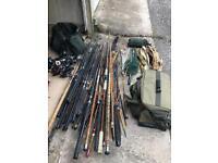 Fly / Carp fishing bundle - Rods - Reels - Bags etc