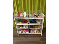 Toy box storage organiser