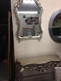 Hall table and mirror was £620 now £499