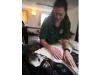 Clinical canine massage therapy