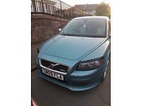 Blue Volvo C30 r design
