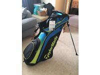 New Taylor Made lightweight golf bag with tags