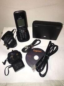 Siemens Gigaset A510IP VOIP SIP Cordless Wireless Phone Set