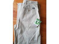 34w 33leg regatta trousers
