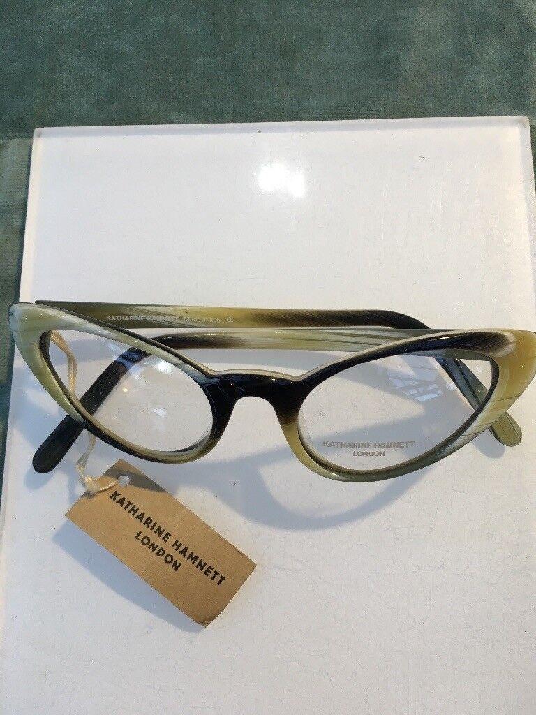 Amazing Katherine Hammett London Italian eyeglass frames with case ...