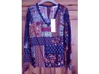 LADIES EXQUISS'S PARIS TOP, SIZE M, RRP £31.95, BRAND NEW WITH TAGS