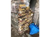 Reclaimed yellow stock bricks