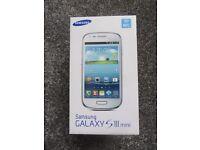SAMSUNG GALAXY S 3 MINI GT- 18190N MOBILE PHONE SPARES OR REPAIRS
