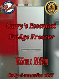Curry's Silver 55cm Fridge Freezer